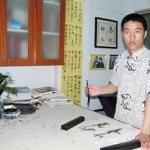 青年书法家——杨长义