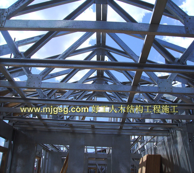 钢结构桁架系统