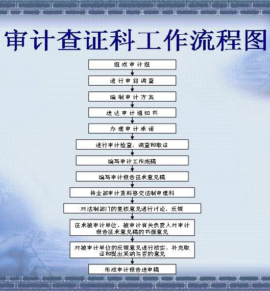 东莞辰信会计代理出具东莞企业审计、税审报告流程图