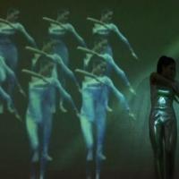 影子舞蹈表演