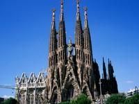 巴塞罗那圣家族教堂