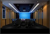 会议室案例生态木吸音板