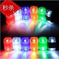 第六代青蛙灯 硅胶灯 警示灯 双眼灯 甲壳虫自行车灯尾灯装备配件