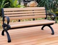 塑木景观椅