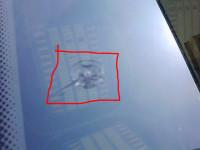 标志修补挡风玻璃(点击观看修补过程及效果)